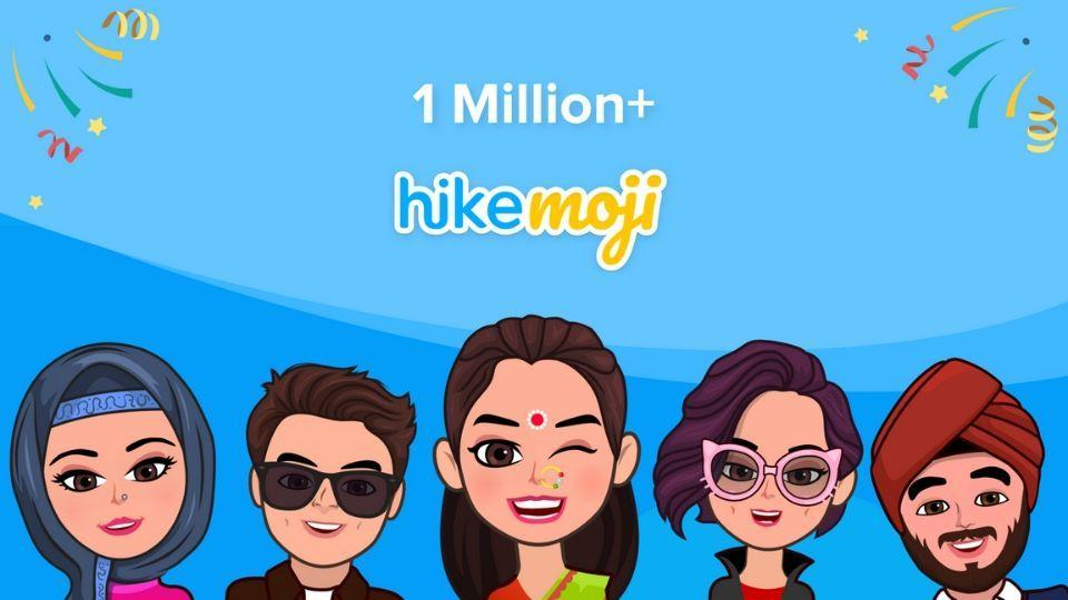 There are already 1 million HikeMojis created in beta.