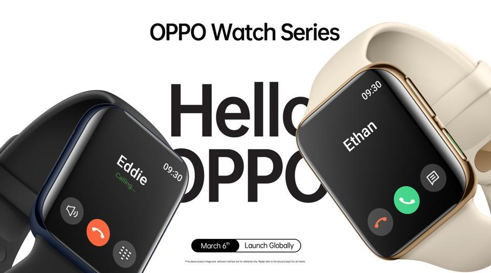 Oppo Watch is official.