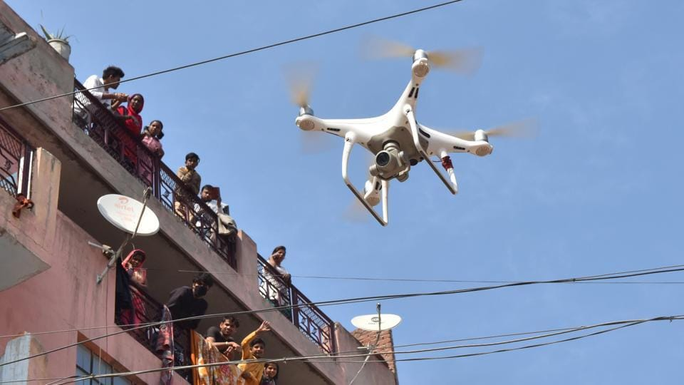 (Representative image) Global engineering and technology solutions company Cyient is providing drone-based surveillance technology to Telangana Police to help it implement the Covid-19 related lockdown in Hyderabad.