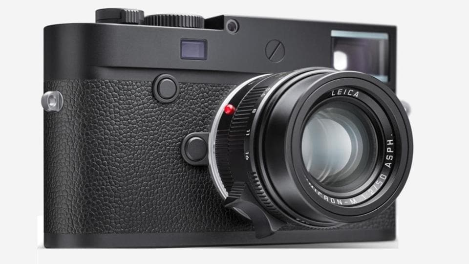 New Leica black and white camera in India for Rs 6.75 lakh
