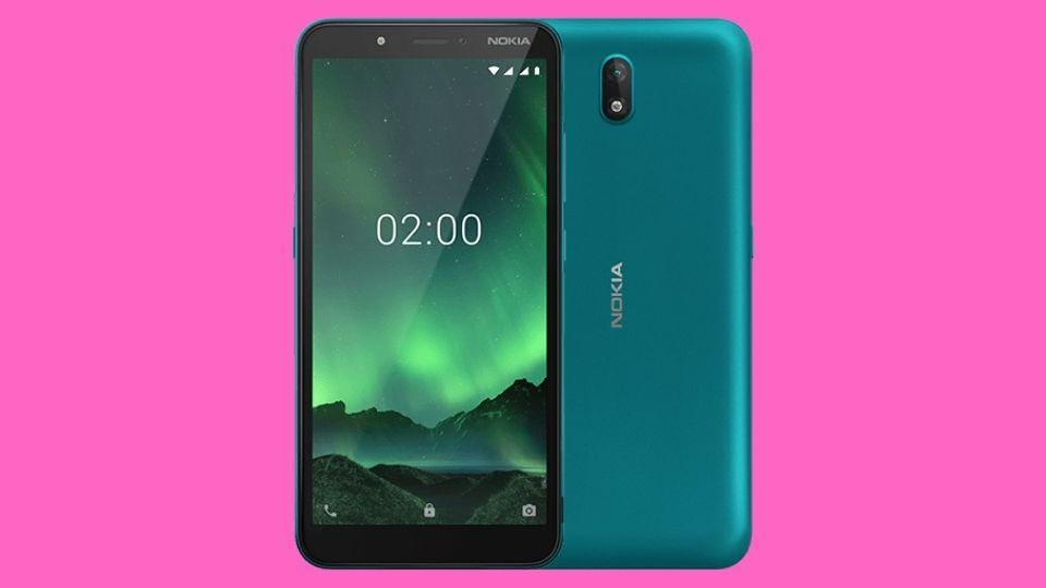 Nokia C2 Android Go smartphone pricing details are expected to be announced on March 18.