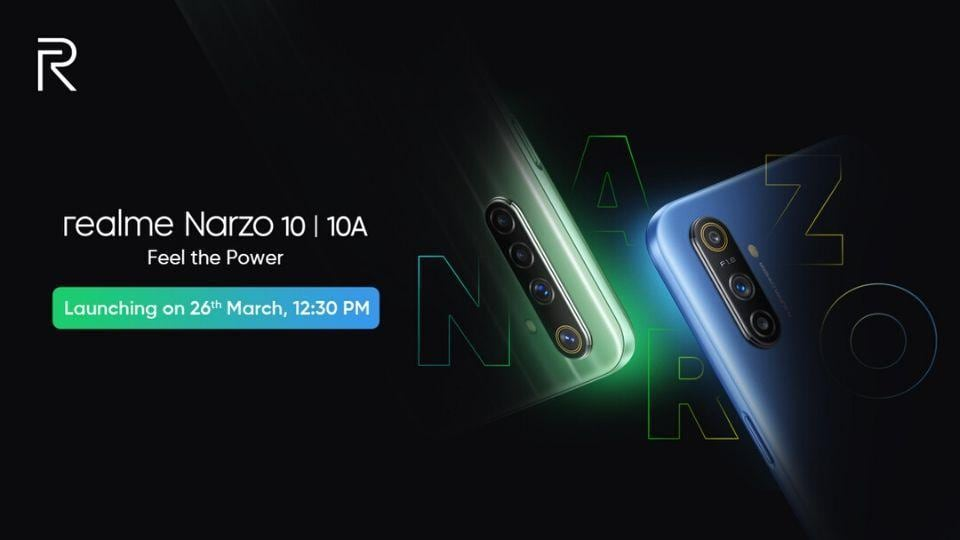 #LeakPeek: Realme Narzo 10 to be priced under Rs. 15,000