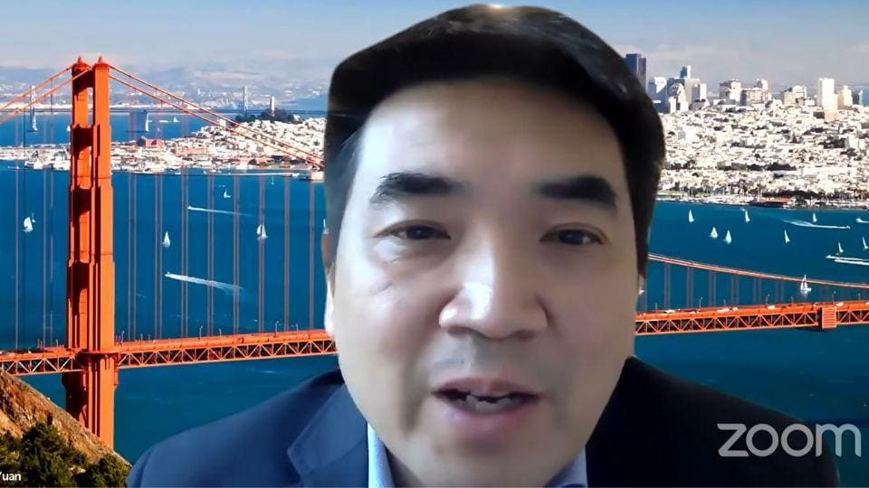 Zoom CEO Eric Yuan hosts first webinar as part of company's efforts to make the app more private and secure.