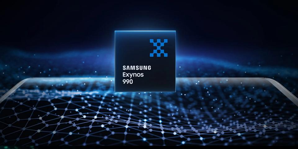 Samsung's custom Exynos chipset will use company's 5nm LPE process. It may also feature two Cortex-A78 CPU cores, two Cortex-A76 CPU cores, and four Cortex-A55 CPU cores alongside ARM's unannounced Mali MP20 GPU.