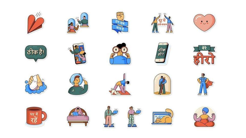 WhatsApp's new sticker pack comes in Hindi, English and more languages.