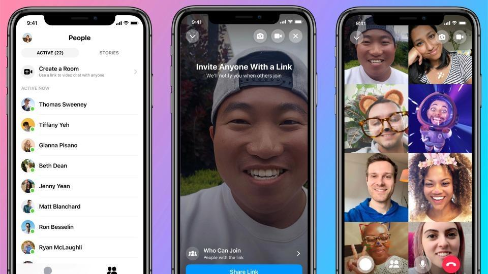 Facebook launches Messenger Rooms and other new features