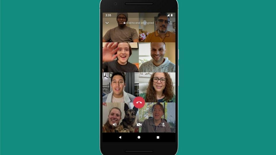 Facebook announced WhatsApp's group call extension last week along with a bunch of other announcements.