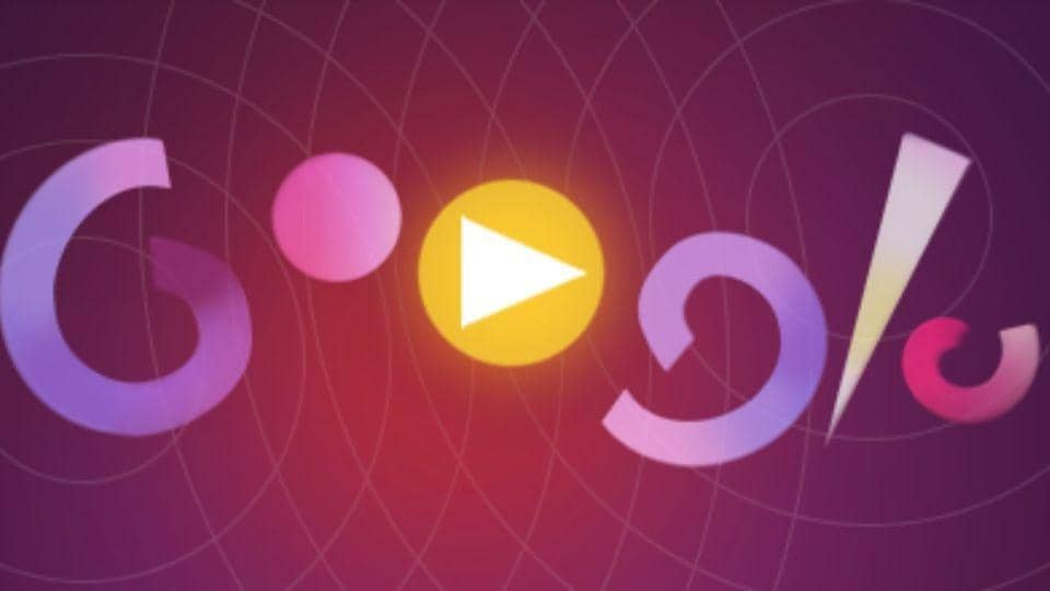 This Google Doodle lets users compose music by tapping anywhere on the screen.
