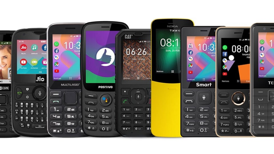 Feature phones do not come wth Bluetooth or GPS support, thus contact tracing apps cannot work on it, nor can they be installed.