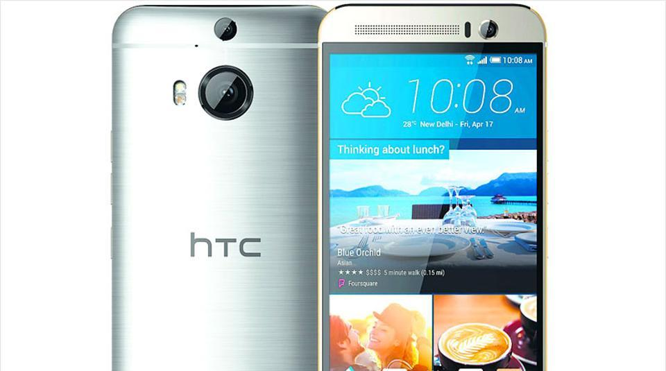 Representational image of the HTC One M9+.