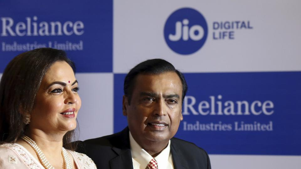 Facebook has invested $5.7 billion in Reliance Jio.