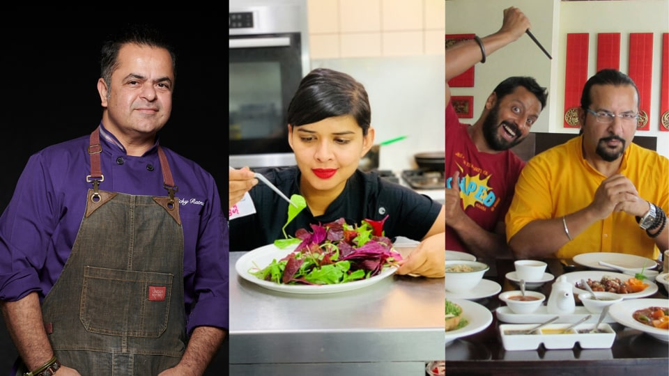 For all the people who were otherwise cooking up a storm, churning out stories from the other side of the table - what have they been doing while we try to measure out water and flour for dough? We spoke to chefs Vicky Ratnani, Radhika Khandelwal and food enthusiasts and TV show hosts Rocky and Mayur to find out .